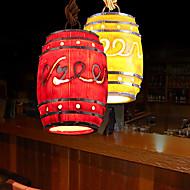 3W Luzes Pingente ,  Tradicional/Clássico / Rústico/Campestre / Rústico / Vintage / Retro Outros Característica for LED ResinaSala de