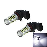 2X White 60 SMD 2835 + 3 3535 SMD LED  9005 Car Bulb Light Lamp Parking Backup HB3 P20d H271