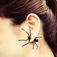 Street Punk Fashion Personality Handsome Black Spider Earrings