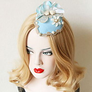 Women's Lace / Alloy / Imitation Pearl / Fabric Headpiece - Wedding / Special Occasion Fascinators
