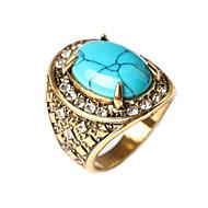 Vintage / Feest / Werk / Informeel - Verguld - Opvallende ring