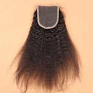 Slove Hair 7A Body Wave Bleached Knots Lace Closure Best Virgin Brazilian Lace Closure    Free/2/3Part Closure