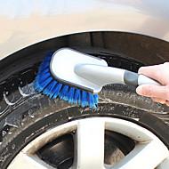 lebosh bil rengöringsborste tvättborste mjuk handtag däck borste