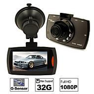 DVD de voiture - 2592 x 1944 -Full HD / Sortie Vidéo / Capteur G / Détection de Mouvement / Grand Angle / 720P / 1080P / HD / Antichoc /
