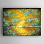 Ručně malované AbstraktníModerní Jeden panel Plátno Hang-malované olejomalba For Home dekorace