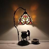 Lampade da scrivania - Tradizionale/classico / Rustico/lodge / Tiffany - DI Metallo - A più paralumi