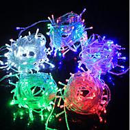 LED Streng Fairy Lys Lysdiode F5 100LED Vanntett / Ip65 Tre Farge Lys Ac180-240V 10M / Lot