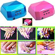36w conduit ccfl forme sèche-ongles de la lumière UV diamant durcissement gel machine de lampe de vernis à ongles EU Plug 220v ou 110v
