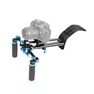 yelangu® DSLR плечевая поддержки буровой установки с камерой / видеокамерой крепление слайдер, плечо подъема набор.