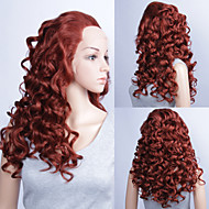 20inch Fashionable Cosplay Party Wig Long Curly  Lace Front Quality Synthetic Wigs