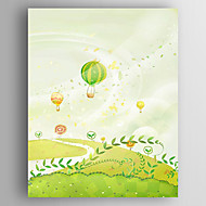 Stretched Canvas  Art Children Art Landscape Print  One Panel
