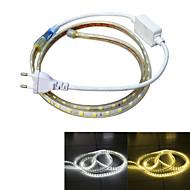 jiawen vodotěsný 13w 850lm 60x5050 SMD LED flexibilní světelné lišty (1M-délka / 220V)