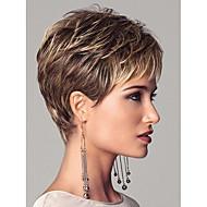 syntheic extensões Europeia senhora mulheres perucas curtas onda bela peruca