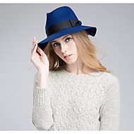 Women British Style Fashion Australian  Wool Jazz Hat, Casual Autumn Winter