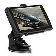 """carro 5 """"GPS de navegação touchscreen fm 128 MB de RAM de 4GB + europa mapa"""
