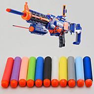 100 pcs 7.2cm Nerf N-strike Elite Rampage Retaliator Series Blasters Refill Clip Darts Soft Bullet