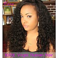 """8-24"""" Brazilian Human Hair Wigs Wet Wavy Lace Front Wigs Unprocessed Virgin Brazilian Water Wave For Black Women"""