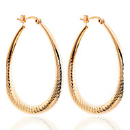 Earring Drop Earrings / Hoop Earrings Jewelry Women Party / Daily / Casual Silver Plated / Gold Plated 2pcs