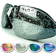 Made In China Zwembrillen Dames / Heren / Unisex Anti-condens / Waterdicht / Verstelbare Maat / Anti-UV Kunststof AcrylRoze / Zwart /