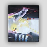 håndmalt abstrakt / berømt / still life / fantasy / fritid stil / moderne / realisme oljemaling, lerret ett panel