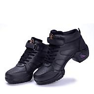 Sapatos de Dança ( Preto ) - Mulheres - Não Personalizável -Ventre / Balé / Latim / Jazz / Sapatilhas de Dança / Sapateado / Moderno /