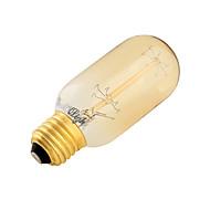 1 pç YouOKLight E26/E27 40W 7 Tungsten Filament SMD 400 LM Branco Quente B edison Vintage Lâmpada Redonda LED AC 220-240 V