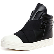 Men's Shoes Outdoor / Office & Career / Athletic / Casual Synthetic / Fashion Sneakers Black