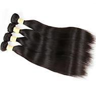 Az emberi haj sző Brazil haj Ravno 4 darab haj sző