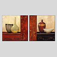 Oil Painting Still Life , Canvas Material with Stretched Frame Ready To Hang SIZE:70*70*2PCS.