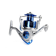 Fulang Fishing Plastic Spinning Reel with 5 Bearing Before Unloading Force Fishing Reels FR08