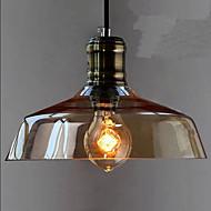 Simple Retro Industrial Glass Pendant Lamp