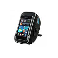 ROSWHEEL® Fahrradtasche 1.2LLHandy-Tasche / Fahrradlenkertasche Wasserdicht / tragbar / Touchscreen / Telefon/Iphone Tasche für das RadPU