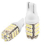 2 * T10 w5w 168 194白42 SMDは、サイド電球ランプを導きました