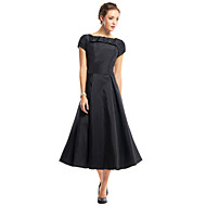 TS Couture® Cocktail Party Dress A-line Scoop Tea-length Taffeta