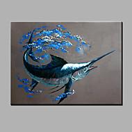 seule main pure abstraction moderne dessiner décoratif prêt à accrocher la peinture à l'huile peinture à l'huile de baleine