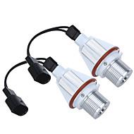 2*7W White CREE LED Angel Eye Halo Bulb Light for BMW E39 E53 E60 E63 E64 E65 E66 E83 E87 Error Free