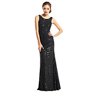TS Couture® Formal Evening Dress Trumpet / Mermaid Scoop Floor-length Sequined with Sequins