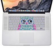 conception de hibou peau de couverture de clavier en silicone pour MacBook Air 13,3, MacBook Pro Retina 13 15 17 nous layout