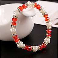 Women's Persona Beads Collection Bracelet Imitation Pearl / Alloy / Obsidian Crystal / Imitation Pearl / Rhinestone