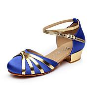 Sapatos de Dança ( Preto / Azul / Vermelho ) - Feminino / Infantil - Não Personalizável - Dança do Ventre / Latina / Salsa