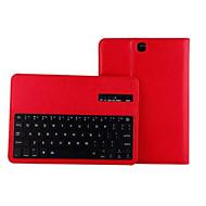 用途 Samsung Galaxy ケース ケース カバー スタンド付き キーボード付き フリップ フルボディー ケース 純色 PUレザー のために SamsungTab S2 9.7 Tab S2 8.0 Tab S 8.4 Tab S 10.5 Tab A 9.7