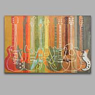 Ručně malované Zátišíevropský styl Jeden panel Plátno Hang-malované olejomalba For Home dekorace
