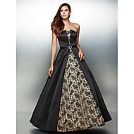ts Couture® soirée formelle robe d'une ligne-bustier cheville dentelle / satin avec de la dentelle