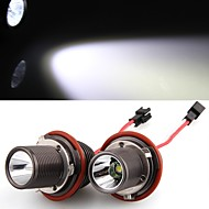 2 *H8 10W LED CREE Angel Eye Light White for BMW E39 E53 E65 E66 E60 E61 E63 E64