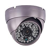 Cctv 1200tvl hd cmos 3.6mm 48pcs ir führte Rüstungskuppelüberwachung-Überwachungskamera
