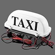 Iztoss Taxi Cab Top Waterproof LampMagnetic Car Vehicle Indicator Lights  with 2 bulbs as backup