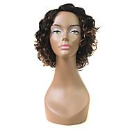 L Part Lace Wig Roman Curl Human Hair Wig