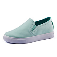 Women's Spring Summer Fall Winter Comfort Canvas Outdoor Office & Career Casual Wedge Heel Gore Blue Green Almond