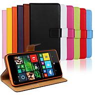 のために Nokiakケース ウォレット / カードホルダー / スタンド付き ケース フルボディー ケース ソリッドカラー ハード PUレザー NokiaNokia Lumia 1020 / Nokia Lumia 950 / Nokia Lumia 930 /