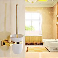 Porte Brosse de Toilette / Gadget de Salle de Bain Ti-PVD Fixation Murale 7.8cm*3.9cm*38cm(17*13.8*14.9inch) Laiton Néoclassique